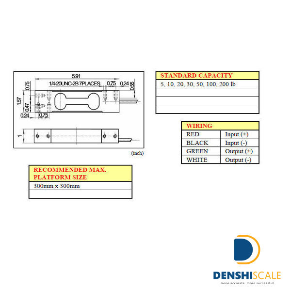 Loadcell VMC VLC 131